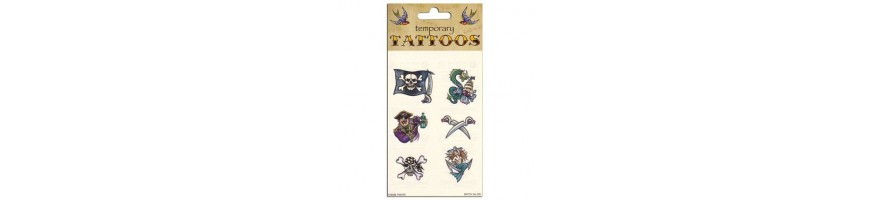 Temporary Tattoos Novelty