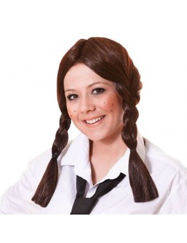 Schoolgirl Wig Brown